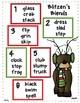 Reindeer ELA and Math Center Games