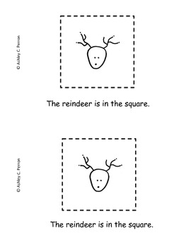 Reindeer Emergent Readers and 10 Frame Posters