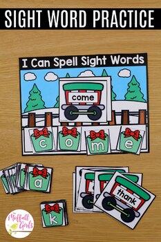 Reindeer Express Sight Word Packet