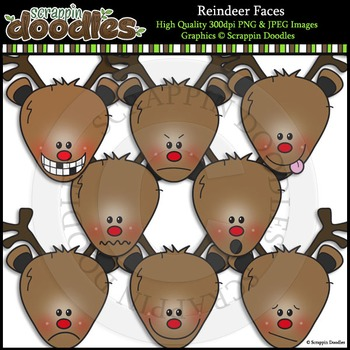 Reindeer Faces