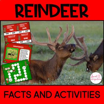 REINDEER INFORMATIONAL TEXT AND ACTIVITIES