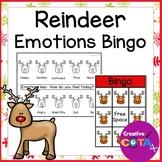 Reindeer Feelings and Emotions Bingo