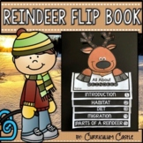 Reindeer (Caribou) Flip Book {Reading Comprehension & Craft}