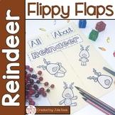 Reindeer Activities Interactive Notebook Lapbook