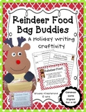 Reindeer Food Bag Buddies {A Writing Craftivity}