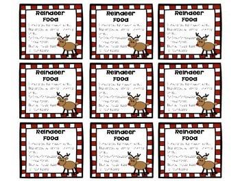 Reindeer Food Bar