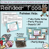 Reindeer Food tags, recipe, & editable parent notes....Class Celebration