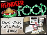 Reindeer Food, Craft, Santa Letter, Bag Toppers and Writing Sheets