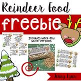 Reindeer Food Freebie