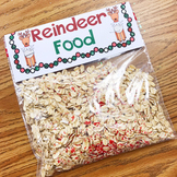 Reindeer Food Label