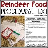 Reindeer Food Procedural Text Passage