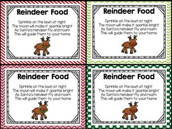 picture relating to Reindeer Food Printable known as Reindeer Foodstuff Printable