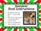 Reindeer Food Recipe Writing