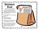 """Reindeer Food"" Tags And Directions"