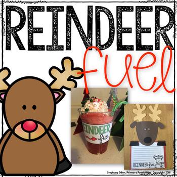 Reindeer Fuel Craft, Activities, and Drink!