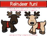 Reindeer Fun Literacy and Crafts