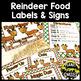 Reindeer Fun! Reindeer Food, Hat, Bookmarks and More