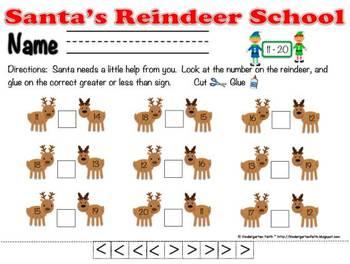 Fun santas reindeer school 5s 10s greater than less than equal reindeer fun santas reindeer school 5s 10s greater than less than equal publicscrutiny Gallery