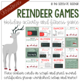 Reindeer Games: PE Edition!