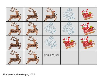 Reindeer Games: Speech Therapy Game