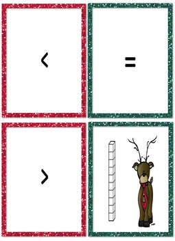 Free Place Value Christmas Math Activities