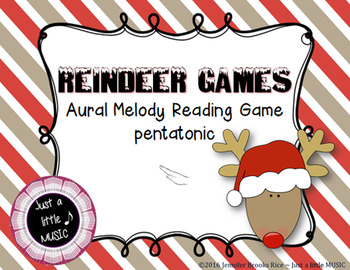 Reindeer Games -- An Aural Melody Recognition Game {pentatonic}