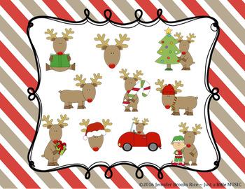 Reindeer Games -- An Aural Melody Recognition Game {sol mi la}