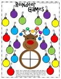 Reindeer Games BLANK Vowel Team, Digraph, Diphthong Word Part/Fluency Center