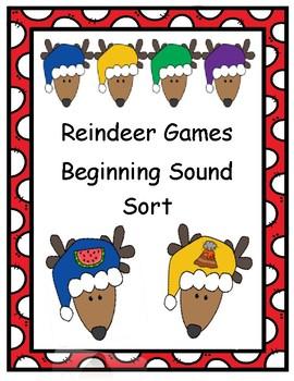 Reindeer Games - Beginning Sound Match