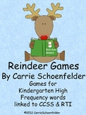Reindeer Games CCSS RTI High Frequency Words