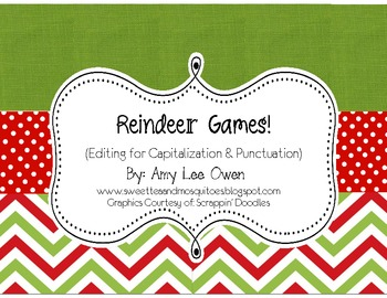 Reindeer Games (Capitalization & Punctuation)