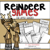 Reindeer Games | Christmas Activities for Upper Grades