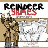 Reindeer Games | Christmas Activities for Upper Grades