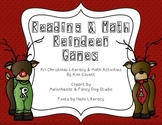 Reindeer Games: Christmas Literacy and Math Activities