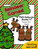Reindeer Games!  Christmas Math Centers for Grades 3-5!