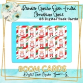 Reindeer Games Christmas Open Ended Reinforcer BOOM Cards – Speech Therapy