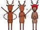 Reindeer Games Digital Clip Art Set
