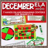 Reindeer Games ELA Centers + Digital Bundle
