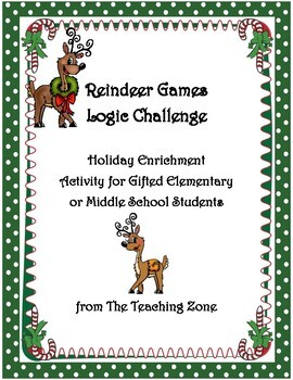 Reindeer Games Logic Challenge Enrichment Activity