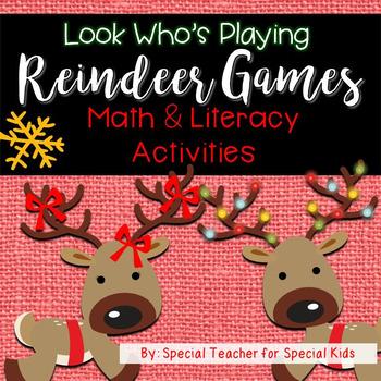 Reindeer Games MEGA Math and Literacy Unit