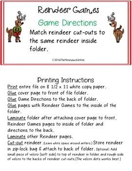 Reindeer Games Match-Up
