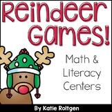 December Centers for Kindergarten