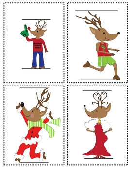 Reindeer Games Math and Literacy Fun
