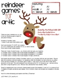 Articulation Reindeer Games {/r/, /s/, /z/, vocalic r and blends}