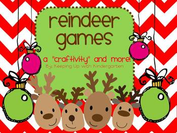 Reindeer Games {printables and craftivity}