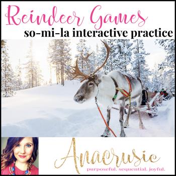 Reindeer Games - so-mi-la interactive melody practice
