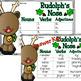 Reindeer Games with Nouns, Verbs, Adjectives Sort