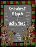 Reindeer Glyph & extra activities (craftivity & printables)
