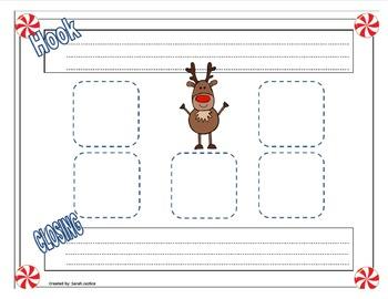 Reindeer Graphic Organizer ( Informational writing)