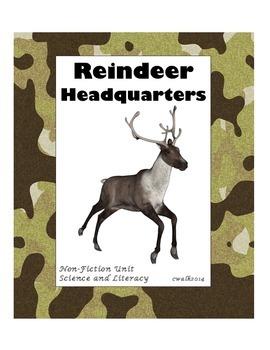 Reindeer Headquarters Science and Literacy